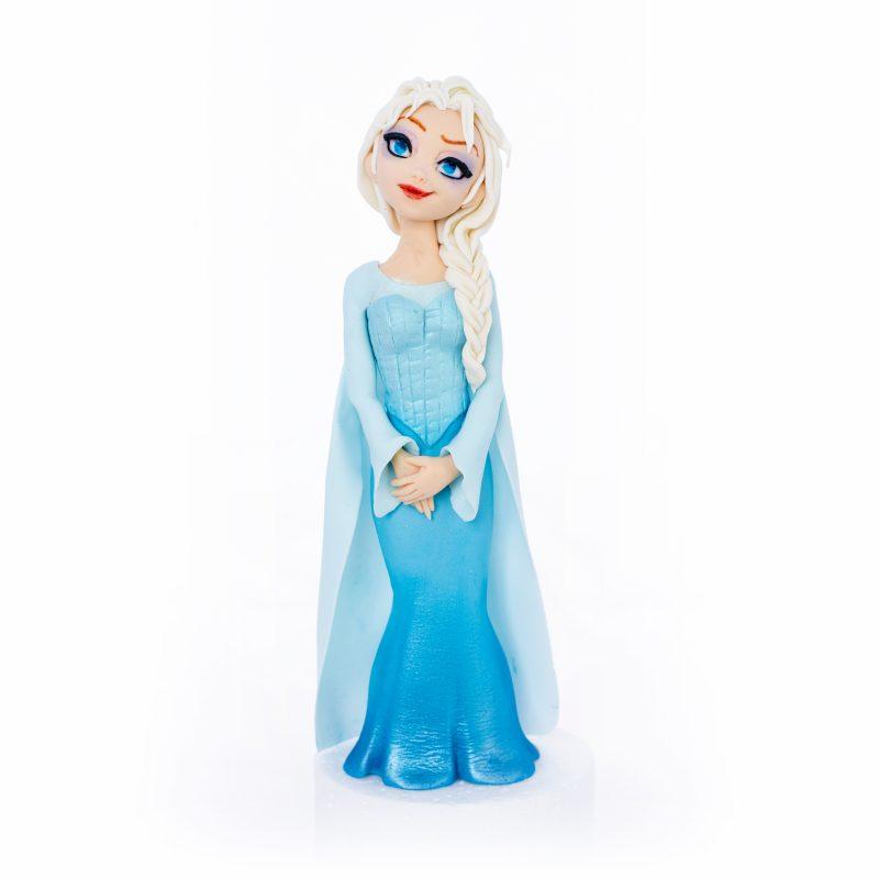 Elsa Fondant Cake Topper