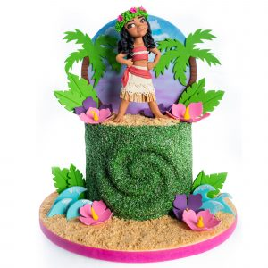Moana Inspired Birthday Cake