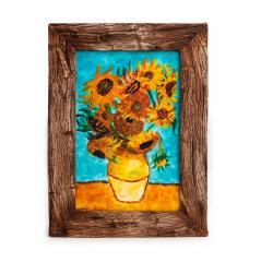 Van Gogh's Sunflowers Cake