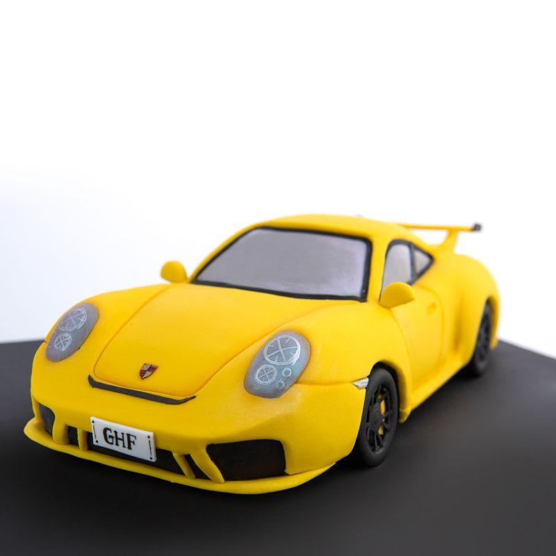 3D Porsche Birthday Cake